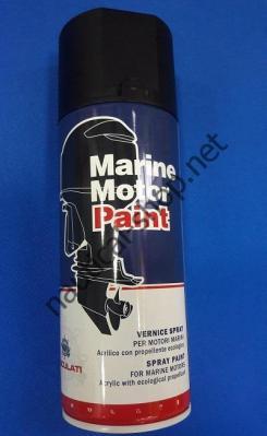 Краска необрастающая в аэрозоле Marine Motor Paint черный, 52.121.00