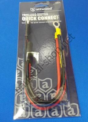 Герметичный набор для подключения электродвигателя вместо аккумуляторных клемм, изделие в упаковке, 14367-6 Attwood