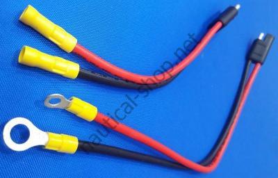 Герметичный набор для подключения электродвигателя вместо аккумуляторных клемм, 14367-6 Attwood