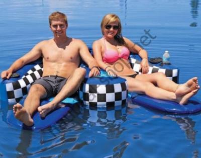 Надувной двухместный водный аттракцион-шезлонг Chariot Duo, 53-1982 Sportsstuff