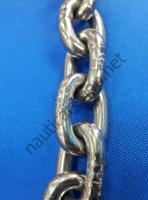 Звенья калиброванной нержавеющей цепи 6 мм, DIN766, 01.375.06 Osculati