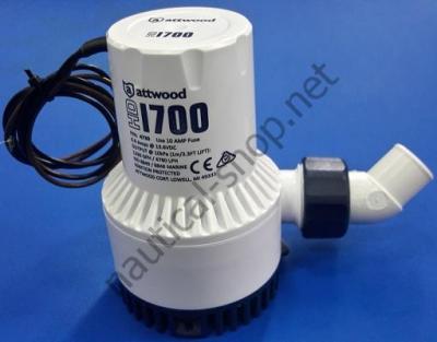 Помпа трюмная погружная для высоких нагрузок, Heavy Duty 1700, 115 л/мин, 4730-1 Attwood