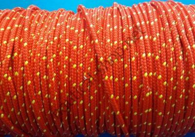 Плетеный трос из полиэфира высокой прочности 4 мм, красный, 06.420.04RO