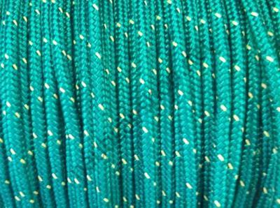 Плетеный трос из полиэфира высокой прочности 6 мм, зеленый цвет, 06.420.06VE Osculati