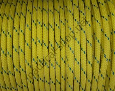 Плетеный трос из полиэфира высокой прочности 8 мм, желтый цвет, 06.420.08GI