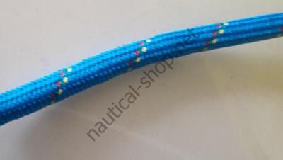 Плетеный канат из полиэфира высокой прочности 10 мм, синий цвет, 06.420.10BL Osculati