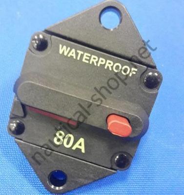 Герметичный автоматический выключатель (врезная модель), 80 А, 02.750.80