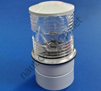Круговой клотиковый фонарь Utility 360° белом корпусе, 11.134.02 Osculati