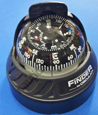 Компас FINDER накладной, 97 мм, черный, 25.172.01 Osculati