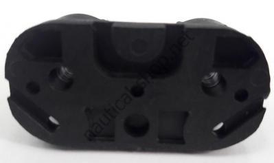 Кулачковый эксцентриковый стопор из алюминия для шкотов 5/12 мм, вид снизу, 56.253.00 Viadana