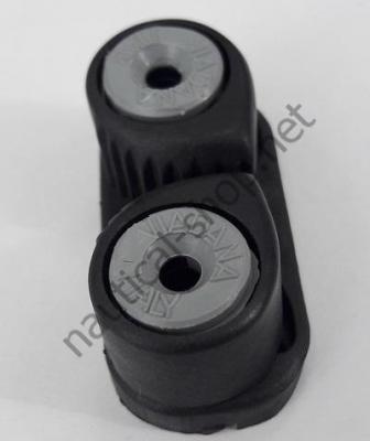 Кулачковый эксцентриковый стопор из алюминия для шкотов 5/12 мм, вид сверху, 56.253.00 Viadana