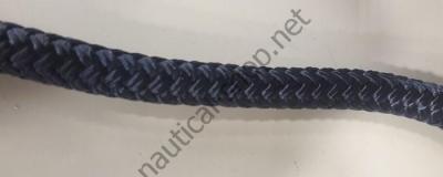 Веревка двойного плетения, 16 мм, нагрузка 2500 кг, темно синий цвет, 06.468.16 Osculati