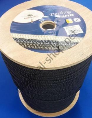 Бухта веревки двойного плетения, 16 мм, темно синий цвет, 06.468.16