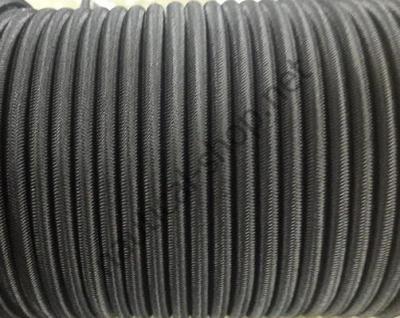 Эластичный морской трос 6 мм, черный цвет, 63.172.06 Osculati