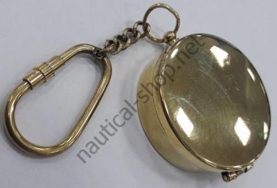 Брелок-компас латунный, PCLE074 AZUR MARINE