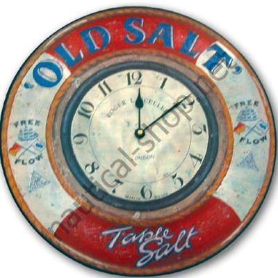 Часы морские настенные кварцевые OLD SALT, 360 мм, HORL029 Roger Lascelles