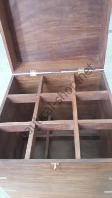 Ящик для хранения вина в морском стиле на 9 бутылок, BOIT049 Azur Marine