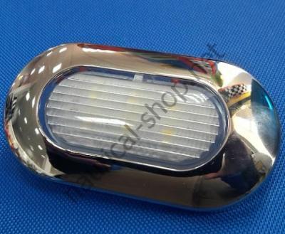 Накладной водонепроницаемый светодиодный светильник 12 В дежурного освещения, 13.178.04 Osculati