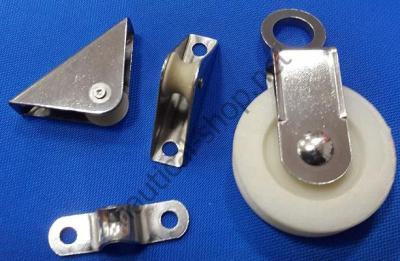 Система роликов и направляющих для якорной лебедки, 2908-6 Attwood