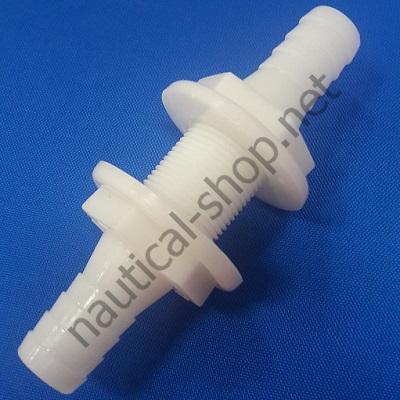 Штуцер для проводки водяного шланга 19 мм через переборку, 3878-1 Attwood