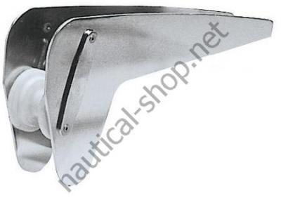 Ролик нержавеющий якорный для якорей типа Брюса/Trefoil до 12 кг, 01.342.10 Osculati
