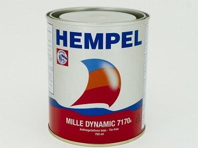 Краска необрастающая MILLE DINAMIC красный (0,75 л), 51170