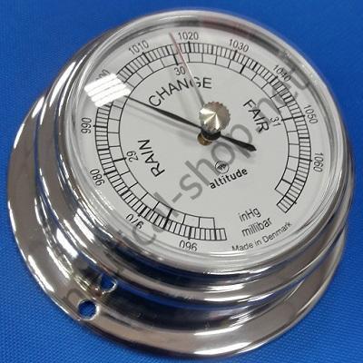 Барометр в корпусе из хромированной латуни, 96 мм, 2151.С Altitude