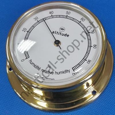 Гигрометр в латунном корпусе диаметр 74 мм, 2154.V Altitude
