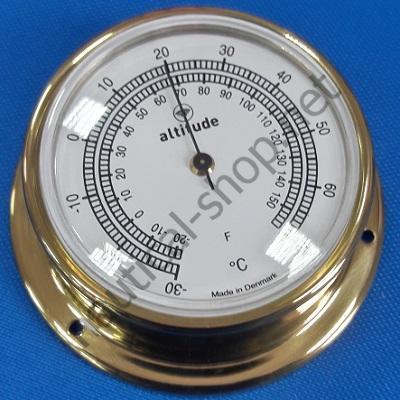 Термометр в латунном корпусе диаметр 74 мм, 2155.V Altitude