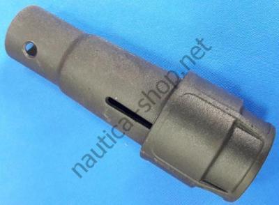 Насадка удлинителя румпеля под трубу 35 мм, Borika 46.02