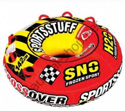 Компактный надувной двухместный аттракцион Super Crossover 2 в 1 (зима-лето), 30-3522 Sportsstuff