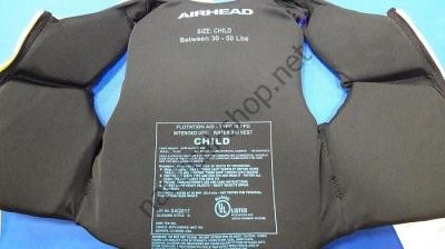 Детский спасательный жилет для детей (14-23 кг) Airhead, 10074-02-BB Airhead