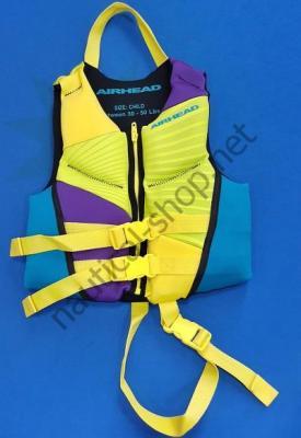 Неопреновый страховочный спасательный жилет для детей (14-23 кг), 10074-02-BB Airhead