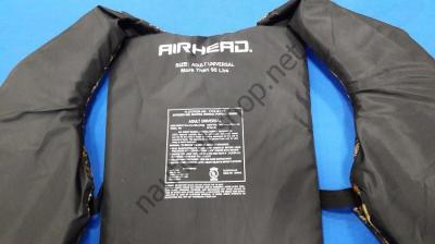 Спасательный страховочный жилет Sportsman для взрослого от 40 кг, универсальный, камуфляж, Airhead
