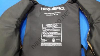 Камуфлированный страховочный спасжилет Sportsman, негабаритный (Super Large), Airhead