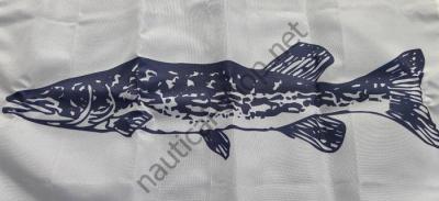 """Флаг рыбака, рыбацкий""""ЩУКА"""" 30х45 см на лодку, катер, яхту, 4518 Taylor Made (США)"""