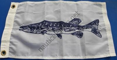 """Флаг рыбацкий """"ЩУКА"""" 30х45 см на лодку, катер, 4518 Taylor Made (США)"""