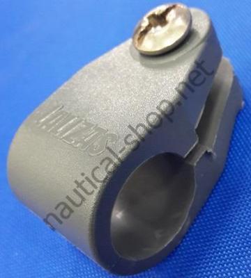 Проходное тентовое соединение для трубы 22 мм из серого полиамида, 50330 Lalizas (Греция)