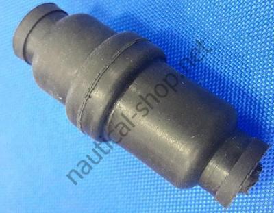 Разъем герметичный Culversterns 3 полюса из резины с латунными контактами, 14.188.03 Osculati (Италия)