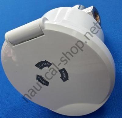 Ниша Classic Evo топливного крана нового поколения с новой системой закрывания из белого ASA-пластика, 17.303.51