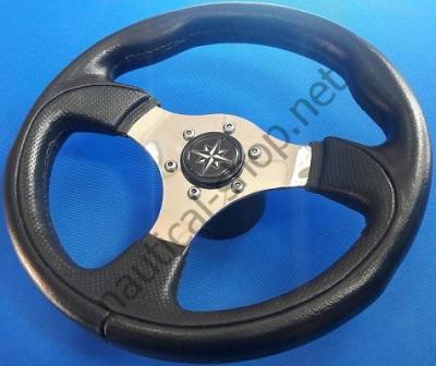Рулевое колесо Tender, 280 мм, черный цвет, 45.138.01 Osculati (Италия)