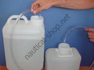 Ручной насос для переливания воды, бензина, дизеля, др, 10 л/мин, 52.739.00, Osculati (Италия)