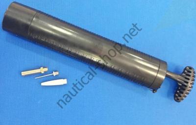 Ручной компрессор высокого давления для кранцев 1,7 бар, 33.521.00 Osculati (Италия)
