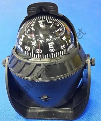 Компас SCOUT LED 90 мм черный со светодиоднойподсветкой и компенсатором, 25.171.01L
