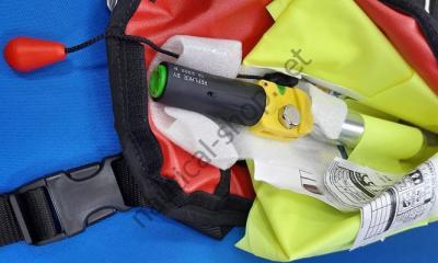 Автоматический самонадувающийся спасательный жилет с активатором UML 33 грамм, 22.396.04 Osculati