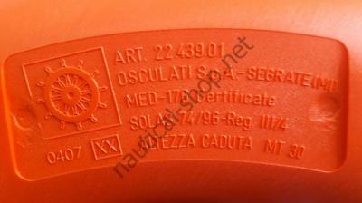 Спасательный круг для прогулочных судов и судов торгового флота, 22.407.04 Osculati