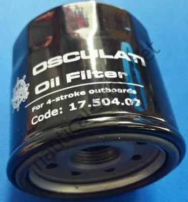 Масляный фильтр для 4-тактных подвесных моторов Yamaha 9,9/100 л.с. Honda 25/50 л.с., 17.504.07 Osculati