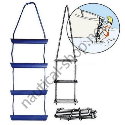 Лестница веревочная с 4 ступеньками макет-схема, 49.524.04