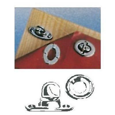 Комплект креплений для тента с поворотной застежкой 4 шт, 10.455.01
