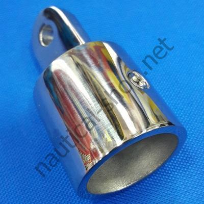 Концевик тентовый нержавеющий для трубы 25 мм, 46.861.03